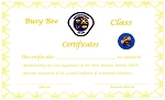 Busy Bee Completion Cert. TOTALLY NEW REDESIGNED CERTIFICATES!