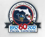 Trading Pin - FL Conference 60th Year Celebration Pin