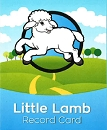 NEW Little Lamb Record Card