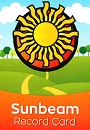 Sunbeam Record Card (NEW) (SPANISH)
