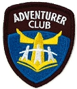 NEW LOGO Adventurer Patch ( Triangle )