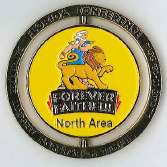Official FL Conference NORTH Area - Spinner Pin - Oshkosh 2014