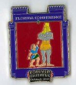 Oshkosh Official FL Conference - Daniel's Journey pin #2