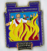 Oshkosh Official FL Conference - Daniel's Journey pin #3