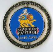 Official FL Conference SOUTH Area - Spinner Pin - Oshkosh 2014